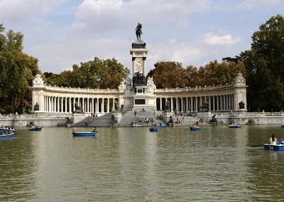 Retiro Monument Alfonso XII