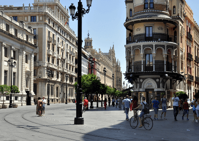 Centre of Seville