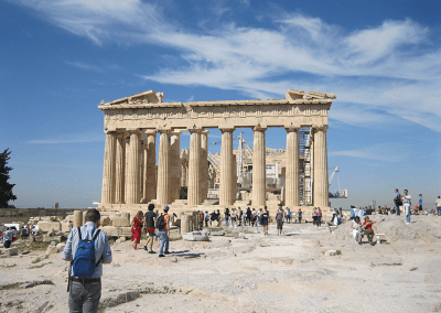 Akropolis besuch
