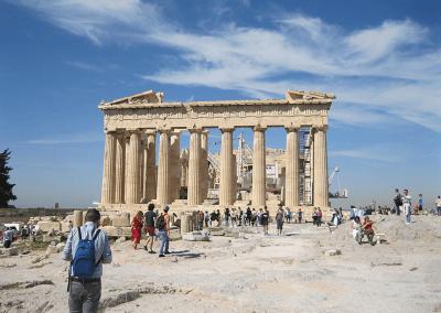 Akropolis bezoek