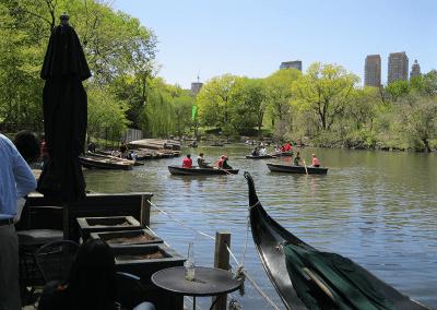 Central Park roeien