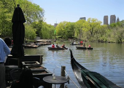 Central Park Rudern