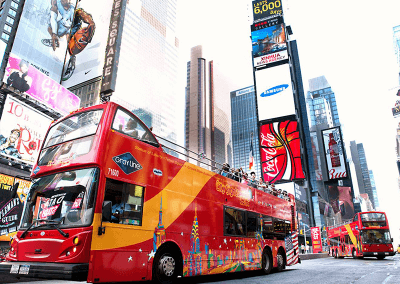 Times Square Tour in autobus