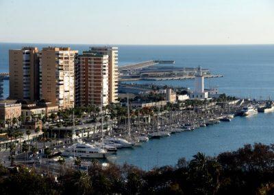 Malaga overzicht