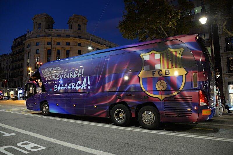 Bus Fc Barcelona 2019