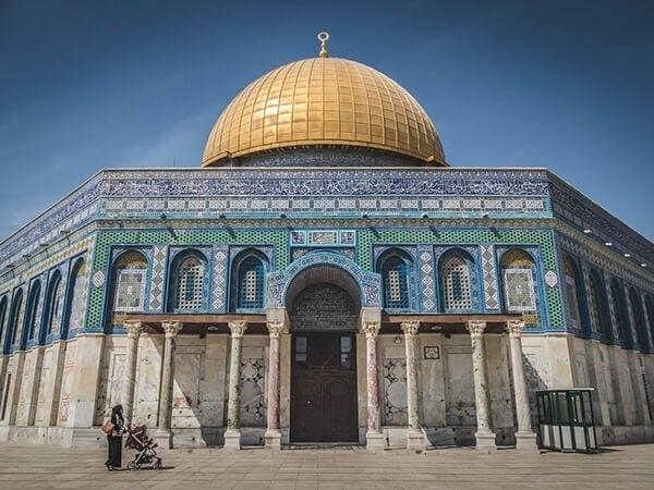Joodse tempel in Jeruzalem