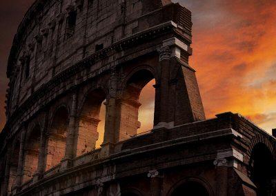 Rome Colosseum Forum Romanum